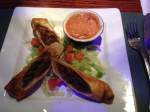steak egg rolls